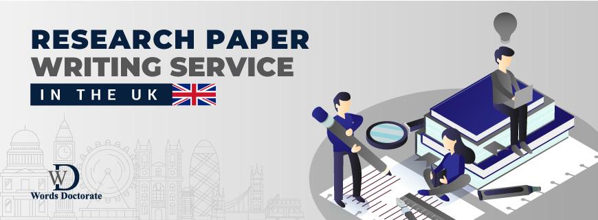 British Research Paper & Manuscript Writing Services in UK